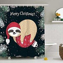 MOUMOUHOME Cartoon Animal Bathroom Christmas