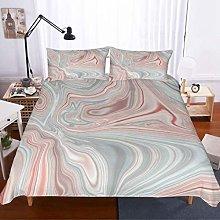 MOUMOUHOME Marble Duvet Cover Set Double Size