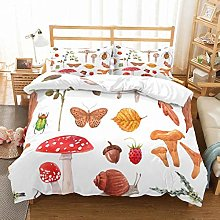 MOUMOUHOME Toddler Bedding Double Size Mushroom