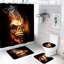 MOUMOUHOME Toilet Lid Cover Bath Mat Contour Mat