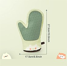 Mountainsea Printed oven gloves, heat-resistant