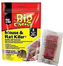 Mouse & Rat Killer Pasta Sachet x 6 STV222