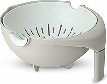 Mousyee Drain Basket, Colander Plastic with