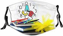 Mouth Guard Face Guard School Clock White