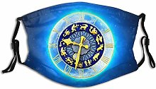Mouth Guard Face Guard Zodiac Sign Starry Sky