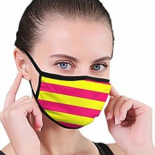 Mouth Mask Reusable Mouth Cover Bright Neon Pink