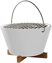 Movable charcoal barbecue - Table by Eva Solo White