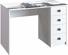Movian - Desk, 110 x 56 x 73.5 cm, London bridge