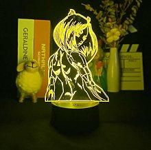 Movie Battle 3D Night Light Acrylic USB Colorful