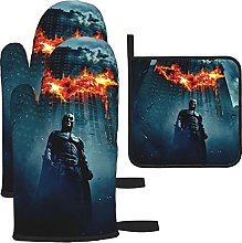 Movie Dark Knight Oven Mitts and Pot Holders Sets