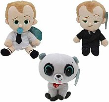 Movie The Boss Baby Plush Toys Suit Diaper Boss