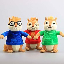 Movie Toys Alvin And The Chipmunks Plush Dolls
