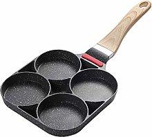 MOVKZACV 4-Cup Egg Frying Pan, Non Stick Egg