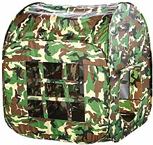 MOVKZACV Childrens Kids Camouflage Play Tent Large