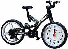 MOVKZACV Desk Clock Bicycle Shape Alarm clock
