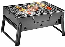 MOVKZACV Folding Charcoal Barbecue Grill, Portable