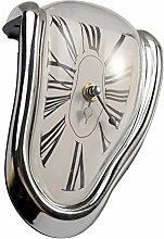 MOVKZACV Melting Clock, Table Shelf Desk Fashion