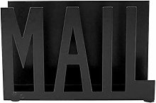 MOVKZACV Metal Desktop Cutout Mail Letter Holder