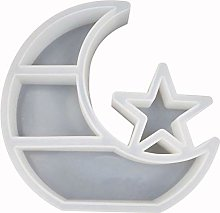 MOVKZACV Moon Star Jewelry Organizer Resin Mold,