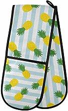 Moyyo Oven Glove Pineapple Blue White Stripe