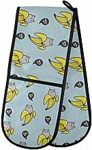 Moyyo Oven Glove Tropical Creative Bananas With