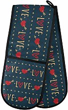 Moyyo Oven Glove Valentine's Day Red Heart