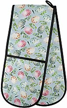 Moyyo Oven Glove Watercolor Easter Eggs Double