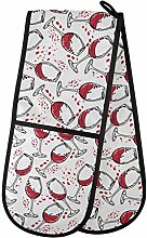 Moyyo Oven Glove Wine Glasses For Party Double