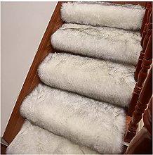 MPGIO Carpet Stair Rug Rotating Stair Step Mat
