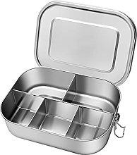 MPGIO Lunch Bento Box with Dividers Snack Storage