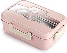 MPGIO Lunch Box with Spoon Chopsticks Dinnerware
