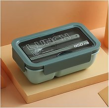 MPGIO Lunch Box with Spoon Leak Proof Durable
