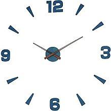 MPM Modern DIY Blue Wall Clock