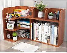 MQH Desktop Bookshelf Desktop Bookshelf Wood Desk