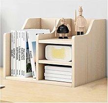 MQH Desktop Bookshelf Multifunctional Desktop