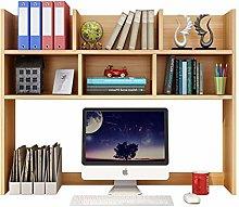 MQH Desktop Bookshelf Wood Desktop Bookshelf