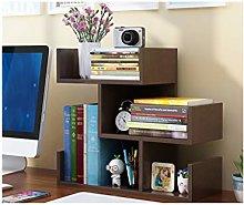 MQH Desktop Bookshelf Wood Desktop Bookshelf Desk