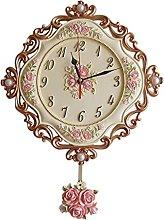 MQH Perfect clock European Wall Clock Country