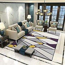 MQJ Carpets Sofa for Bedroom Carpet Yellow Gray