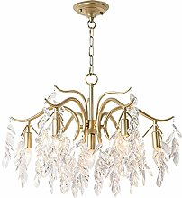 MQJ Chandelier,Crystal During Lighting with Clear