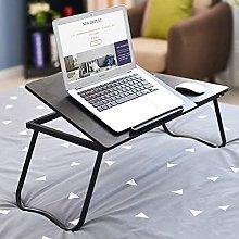 MQJ Folding Table,Adjustable Laptop Table Portable
