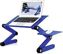 MQJ Folding Table,Laptop Desk with Mouse Pad