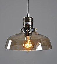 MQJ Glass Light Vintage Hanging Lamp Kitchen