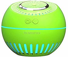 MQJ Humidifier Melon Humidifier Home Desk Large