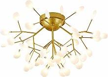 MQJ Lxshmf Sputnik Firefly Chandelier 6500K Flush