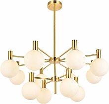 MQJ Modern Sputnik Chandelier,6 Lights Molecular