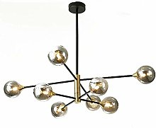 MQJ Sputnik Chandelier Mid Century Led Pendant