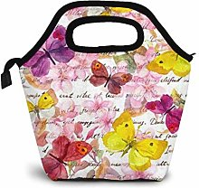 MQJJ Watercolor Flowers Butterflies and Hand