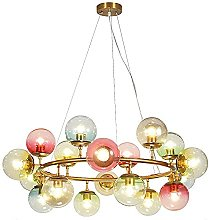 MQQ Colorful Ceiling Chandelier E27 Adjustable