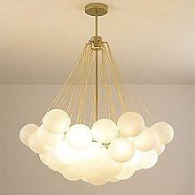 MQQ Hanging Light,Modern Bubble Ball Glass Design